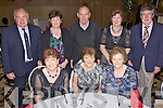 Having a great time at The Killflynn Dancing Group Christmas Night Out in The Ballyroe Heights Hotel on Friday night were seated l/r Maureen Griffin, Christina Leen and Kathleen Casey, standing l/r Tom McCarthy, Rita Stack, Sonny Casey, Josie James and Eddie Hayes.