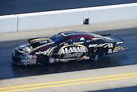 Apr. 14, 2012; Concord, NC, USA: NHRA pro mod driver Mike Castellana during qualifying for the Four Wide Nationals at zMax Dragway. Mandatory Credit: Mark J. Rebilas-