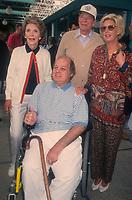 Nancy Reagan, James Brady and Ronald Reagan, 1993, Photo By Michael Ferguson/PHOTOlink /MediaPunch