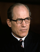 "Associate Justice of the United States Supreme Court Byron R. White photographed at the Supreme Court in Washington, D.C. on Monday, April 24, 1972.  He was appointed by U.S. President John F. Kennedy in 1962..Credit: Benjamin E. ""Gene"" Forte / CNP"