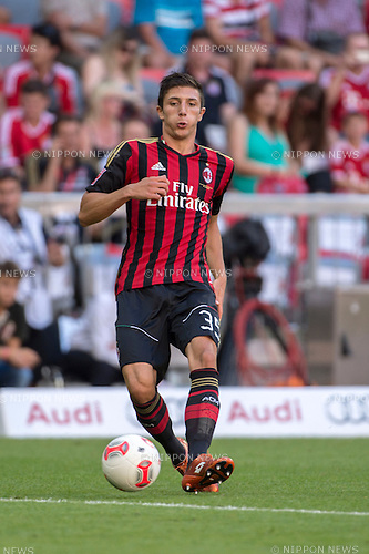 Davide Pacifico (Milan), AUGUST 1, 2013 - Football / Soccer : Audi Cup 2013 match between AC Milan 1-0 Sao Paulo FC at Allianz Arena in Munich, Germany. (Photo by Maurizio Borsari/AFLO) [0855]