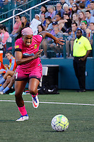Rochester, NY - Saturday Aug. 27, 2016: Jessica McDonald during a regular season National Women's Soccer League (NWSL) match between the Western New York Flash and the Houston Dash at Rochester Rhinos Stadium.
