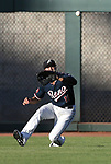 Reno Aces&rsquo; Kristopher Negron makes a play against the Las Vegas 51s in Reno, Nev. on Saturday, June 3, 2017. The 51s won 9-5.<br /> Photo by Cathleen Allison/Nevada Photo Source