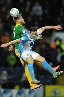 Blackburn Rovers' Stewart Downing vies for possession with Preston North End's Tom Clarke<br /> <br /> Photographer Kevin Barnes/CameraSport<br /> <br /> The EFL Sky Bet Championship - Blackburn Rovers v Preston North End - Saturday 11th January 2020 - Ewood Park - Blackburn<br /> <br /> World Copyright © 2020 CameraSport. All rights reserved. 43 Linden Ave. Countesthorpe. Leicester. England. LE8 5PG - Tel: +44 (0) 116 277 4147 - admin@camerasport.com - www.camerasport.com
