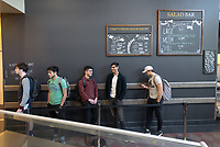 The Marketplace in the Johnson Student Center (JSC) on Jan. 24, 2019, maintained by Campus Dining.<br /> (Photo by Marc Campos, Occidental College Photographer)