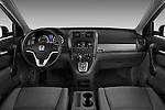 Honda CRV 2010 EX Straight Dashboard View Stock Photo