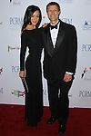 MAGGIE Q (Margaret Denise Quigley), NEAL BARNARD. Red Carpet arrivals to The Art of Compassion PCRM 25th Anniversary Gala at The Lot in West Hollywood. West Hollywood, CA, USA. April 10, 2010.