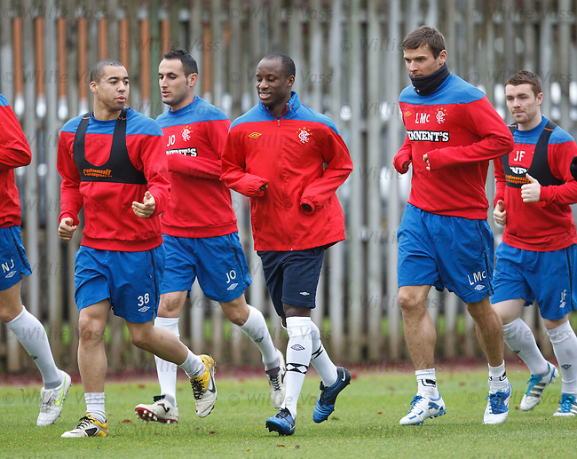Sone Aluko continuing his trial with the SPL champions
