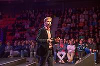 Rotterdam, Netherlands, December 15,  2017, Topsportcentrum,  Coaches Congress , Erik Poel<br /> Photo: Tennisimages/Henk Koster