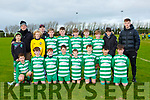 The Killarney Celtic team that played Mastergeeha ain the u13 Kerry premier league in Mastergeeha on Saturday morning