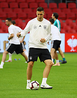 Niklas Süle (Deutschland Germany) - 12.10.2018: Abschlusstraining der Deutschen Nationalmannschaft vor dem UEFA Nations League Spiel gegen die Niederlande