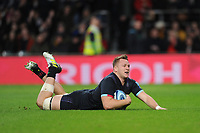 Alex Dombrandt of Harlequins scores a try during Big Game 11, the Gallagher Premiership Rugby match between Harlequins and Wasps, at Twickenham Stadium on Saturday 29th December 2018 (Photo by Rob Munro/Stewart Communications)