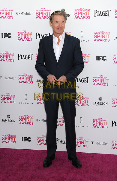 Kyle MacLachlan.2013 Film Independent Spirit Awards - Arrivals Held At Santa Monica Beach, Santa Monica, California, USA,.23rd February 2013..indy indie indies indys full length black suit white shirt blue.CAP/ROT/TM.©Tony Michaels/Roth Stock/Capital Pictures