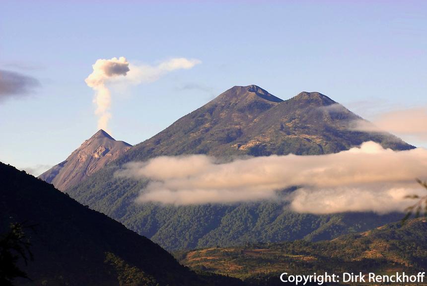 Vulkan Fuego in Guatemala