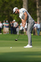 Dustin Johnson (USA) on the 13th green during the 1st round at the PGA Championship 2019, Beth Page Black, New York, USA. 17/05/2019.<br /> Picture Fran Caffrey / Golffile.ie<br /> <br /> All photo usage must carry mandatory copyright credit (&copy; Golffile | Fran Caffrey)