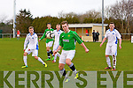 kerry's Cian Kennedy at the Kerry against DDSL in the Youths Cup at Mounthawk park on Sunday