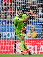 Goalkeeper Rui Patrício of Wolves during the Premier League match between Leicester City and Wolverhampton Wanderers at the King Power Stadium, Leicester, England on 10 August 2019. Photo by Andy Rowland.