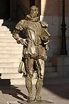 Statue of Cervantes; Toledo; Spain
