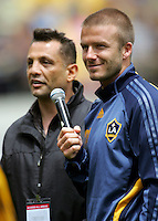 071130 Football - David Beckham LA Galaxy Training