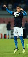 Jose Maria Callejon Napoli<br /> Napoli 16-08-2017 Stadio San Paolo <br /> Napoli - Nice <br /> Uefa Champions League 2017/2018 Play Off <br /> Foto Cesare Purini Insidefoto