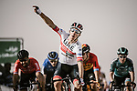 Rui Costa (POR) UAE Team Emirates wins Stage 1 of the Saudi Tour 2020 running 173km from Saudi Arabian Olympic Committee to Jaww, Saudi Arabia. 4th February 2020. <br /> Picture: ASO/Pauline Ballet | Cyclefile<br /> All photos usage must carry mandatory copyright credit (© Cyclefile | ASO/Pauline Ballet)
