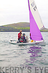 Father & Daughter crew Eddie & Patrice Walsh from the Atlantic S.C. taking part in the Autumn Regatta in Cahersiveen on Saturday.