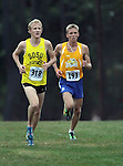 BROOKINGS, SD - OCTOBER 4:  Alumni Michael Krsnak and Trent Lusignan from South Dakota State University lead the 2013 Jackrabbit Invitational Cross Country Meet Friday at Edgebrook Golf Course. (Photo by Dave Eggen/Inertia)