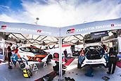 8th June 2017, Alghero, West Coast of Sardinia, Italty; WRC Rally of Sardina,  The garage of