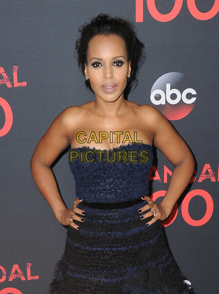 08 April 2017 - West Hollywood, California - Kerry Washington. ABC's 'Scandal' 100th Episode Celebration held at Fig &amp; Olive in West Hollywood.   <br /> CAP/ADM/BT<br /> &copy;BT/ADM/Capital Pictures