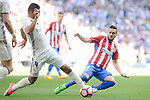 Real Madrid's Carlos Henrique Casemiro and Atletico de Madrid's Koke Resurrección during La Liga match between Real Madrid and Atletico de Madrid at Santiago Bernabeu Stadium in Madrid, April 08, 2017. Spain.<br /> (ALTERPHOTOS/BorjaB.Hojas)