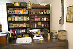 Grocer shop interior, Museum of East Anglian Life, Stowmarket, Suffolk