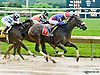 Luna Argenta winning at Delaware Park racetrack on 6/12/14