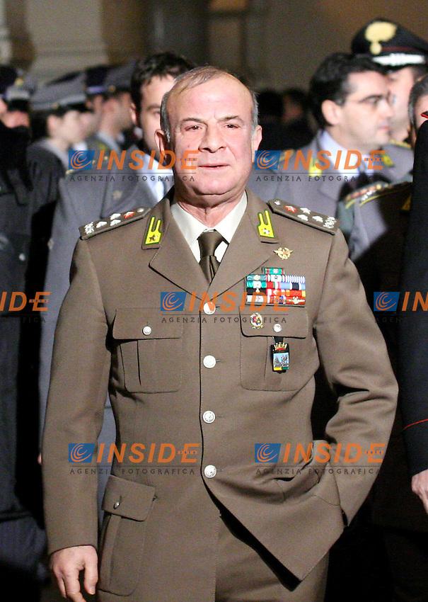 Roma, 27 gennaio 2006: Palazzo di Giustizia, Inaugurazione Anno Giudiziario 2006.<br /> <br /> Il Comandante Generale della Guardia di Finanza Gen. C.A. Roberto Speciale<br /> <br /> Photo: Serena cremaschi Insidefoto