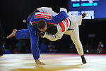 Wales Ruslan Rancev in action against Ma Kombo<br /> <br /> Photographer Ian Cook/Sportingwales<br /> <br /> 20th Commonwealth Games - Judo -  Day 3 - Saturday 26th July 2014 - Glasgow - UK