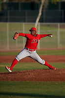 AZL Angels starting pitcher Jenrry Gonzalez (71) during a game against the AZL Giants Orange at Giants Baseball Complex on June 17, 2019 in Scottsdale, Arizona. AZL Giants Orange defeated AZL Angels 8-4. (Zachary Lucy/Four Seam Images)