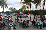 beachfront sunrise Easter service from a Baptist church