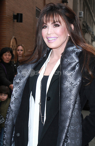 NEW YORK, NY - JANUARY 11: Marie Osmond seen after an appearance on  ABC's The View in New York City on January 11, 2018. Credit: RW/MediaPunch
