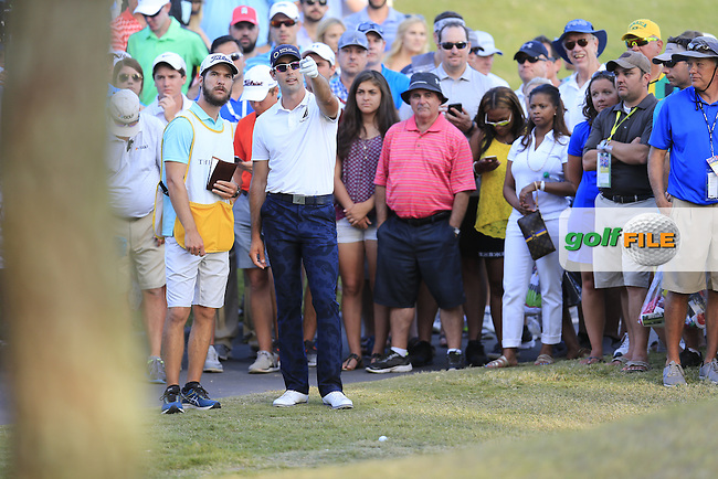 Cameron Tringale (USA) during round 3 of the Players, TPC Sawgrass, Championship Way, Ponte Vedra Beach, FL 32082, USA. 14/05/2016.<br /> Picture: Golffile | Fran Caffrey<br /> <br /> <br /> All photo usage must carry mandatory copyright credit (&copy; Golffile | Fran Caffrey)