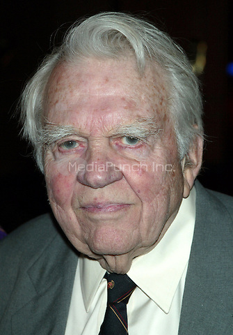 Andy Rooney attending the New York City Center Spring Gala Cocktail Party at the NY City Center Atrium on West 55th Street in New York City. May 14, 2007 © Joseph Marzullo / MediaPunch