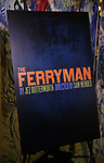 "Theatre Poster for the ""The Ferryman"" cast change photo call on January 17, 2019 at the Sardi's in New York City."