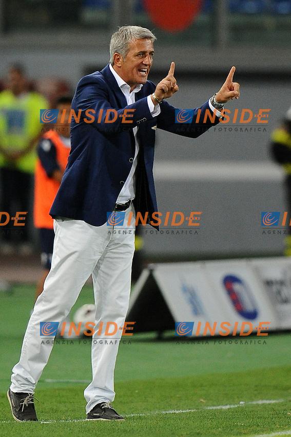 Vladimir Petkovic, allenatore della Lazio..30/08/2012 Roma.Stadio Olimpico.Football Calcio 2012 / 2013 .Preliminari Europa League.Lazio vs Mura 05  3-1.Foto Insidefoto / Antonietta Baldassarre.
