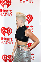 LAS VEGAS, NV - September 21:  Miley Cyrus pictured at iHeart Radio Music Festival at MGM Grand Resort on September 21, 2012 in Las Vegas, Nevada..    &copy; RD/ Kabik/ Starlitepics / Mediapunchinc /NortePhoto<br />