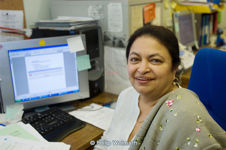 Rukshana Chishti, Director of West Hampstead Women's Centre, short-listed for Camden Council's  Caring for Another EPIC Award 2005.