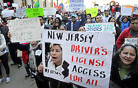 Immigration Drivers License  Rally in Trenton, New Jersey