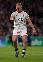 England's Dylan Hartley<br /> <br /> Photographer Bob Bradford/CameraSport<br /> <br /> Quilter Internationals - England v South Africa - Saturday 3rd November 2018 - Twickenham Stadium - London<br /> <br /> World Copyright © 2018 CameraSport. All rights reserved. 43 Linden Ave. Countesthorpe. Leicester. England. LE8 5PG - Tel: +44 (0) 116 277 4147 - admin@camerasport.com - www.camerasport.com