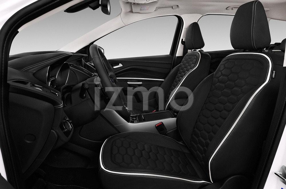 Front seat view of a 2017 Ford Kuga Vignale 5 Door SUV front seat car photos