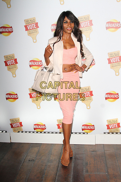 LONDON, ENGLAND - JULY 28: Sinitta attends the Walkers 'Do Us A Flavour' launch party at Paramount, Centre Point on July 28, 2014 in London, England<br /> CAP/ROS<br /> &copy;Steve Ross/Capital Pictures