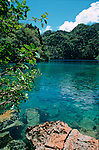 lac de Cayangan. Ile de Coron dans l'archipel de Calamian. Philippines.