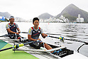 Shigeru Komazaki &amp; Rie Ariyoshi (JPN),<br /> SEPTEMBER  9, 2016 - Rowing : <br /> Mixed Double Sculls TAMix2x <br /> at Lagoa Stadium<br /> during the Rio 2016 Paralympic Games in Rio de Janeiro, Brazil.<br /> (Photo by Shingo Ito/AFLO)