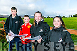At the Kerry ETB orienteering event in Ballyseedy Wood on Tuesday were James O'Brien, Padraig O'Sullivan, Sarah O Riordan, Laura O'Connor from Killarney Community College